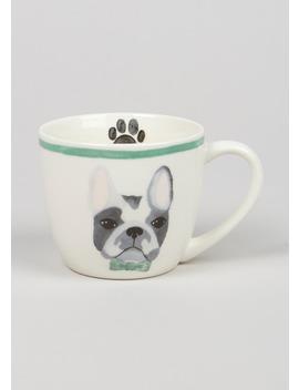 French Bulldog Print Mug (11cm X 9cm) by Matalan