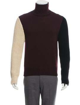 Wool Colorblock Sweater by Calvin Klein 205 W39 Nyc