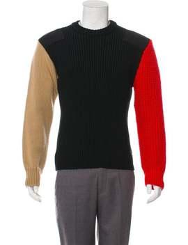 Wool Rib Knit Sweater by Calvin Klein 205 W39 Nyc