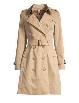 Chelsea Tie Waist Trench Coat by Burberry