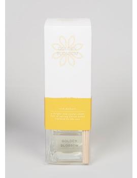 Golden Blossom Fragrance Diffuser (9cm X 6cm X 6cm) by Matalan