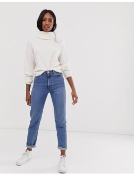Asos Design Tall – Flauschiger Pullover Mit Wasserfallausschnitt, Aus Recycelten Materialien by Asos
