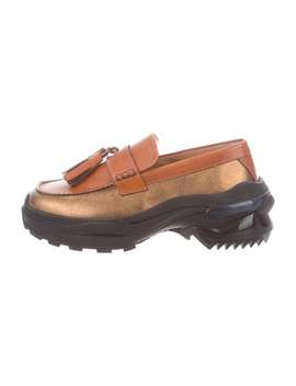 Leather Platform Moccasin Loafers W/ Tags by Maison Margiela