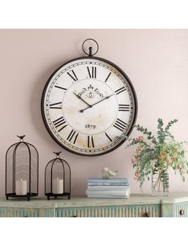 "Oversized 31"" Wall Clock by One Allium Way"