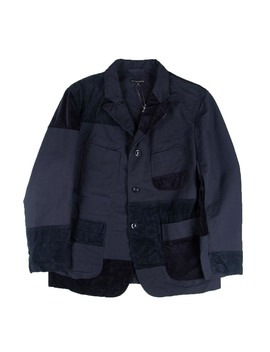 Bedford Jacket   Navy Cotton Double Cloth by Engineered Garments