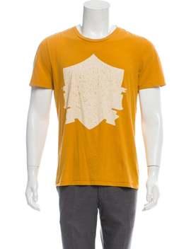 Graphic Print T Shirt by Maison Margiela