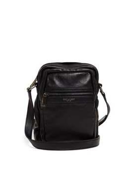 Brad Leather Cross Body Bag by Saint Laurent