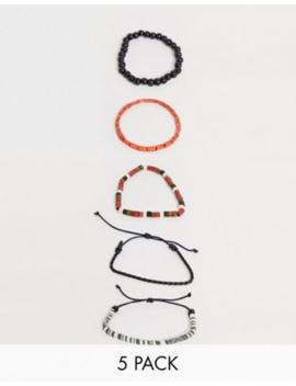 Bershka – Armbänder Im 5 Pack by Asos