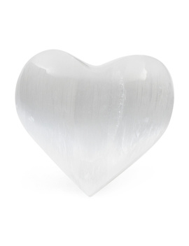 Selenite Heart by Tj Maxx