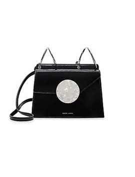 Phoebe Bis Accordion Patent Leather Bag by Danse Lente