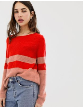 Only Nala Colourblock Jumper by Only