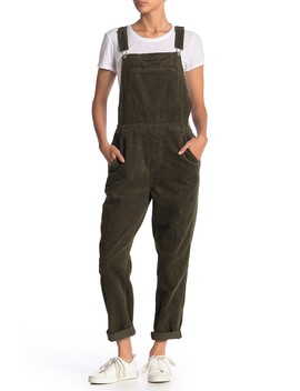 Solid Corduroy Overalls by Know One Cares