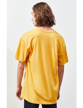 Ps Basics Gold Striped T Shirt by Pacsun