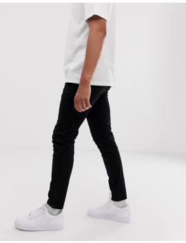 River Island Black Skinny Chinos by River Island