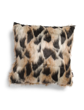 20x20 Faux Fur Pillow by Tj Maxx