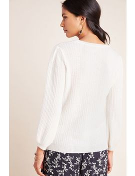Gwynn Ribbed Cashmere Sweater by Velvet By Graham & Spencer