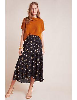 Willa Floral Midi Skirt by Velvet By Graham & Spencer
