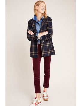 Paige Hoxton High Rise Corduroy Skinny Jeans by Paige