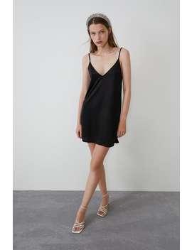 Vestido Lencero Ver Todo Vestidos Trf by Zara
