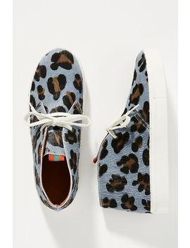Penelope Chilvers Leopard High Top Sneakers by Penelope Chilvers