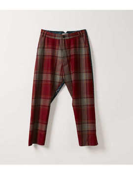 O' Trousers Red Tartan  by Vivienne Westwood