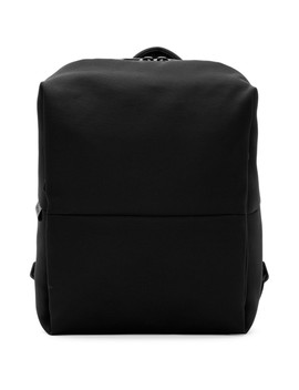 Black Rhine New Flat Backpack by CÔte & Ciel
