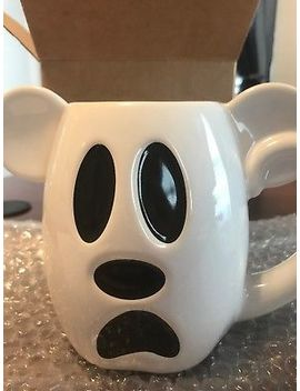New 2018 Disney Halloween Mickey Boo To You Ceramic Coffee Mug Cup by Ebay Seller