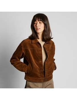 Corduroy Oversized Jacket by Uniqlo