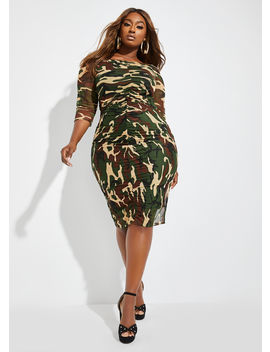 The Cassie Dress by Ashley Stewart