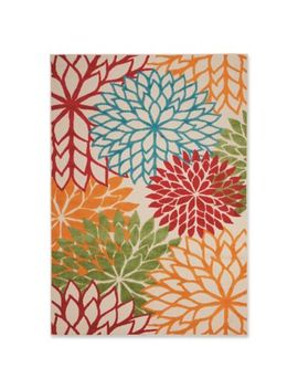 Nourison Aloha Floral Burst Indoor/Outdoor Area Rug by Bed Bath And Beyond