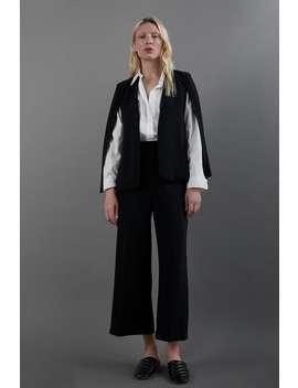 Cape With Slits Suitswoman by Zara
