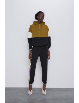 Jogging Pants With Side Stripe Coord Sets Woman by Zara