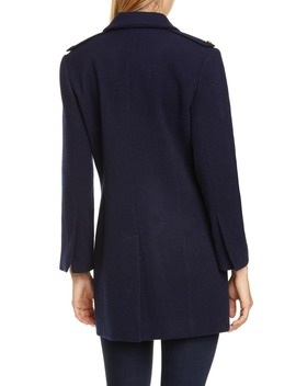 Emmi Wool Blend Peacoat by L'agence