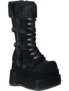 Bear 202 | Black [Preorder] by Demonia Shoes