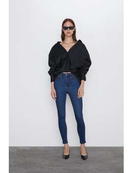Z1975 Skinny High Rise Jeans View All Jeans Woman by Zara