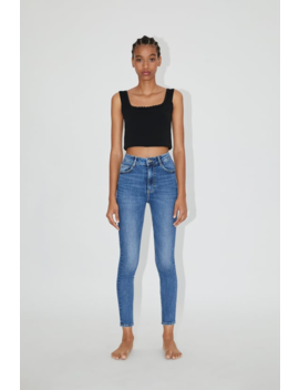 Hi Rise Sculpt Jeans View All Jeans Woman by Zara