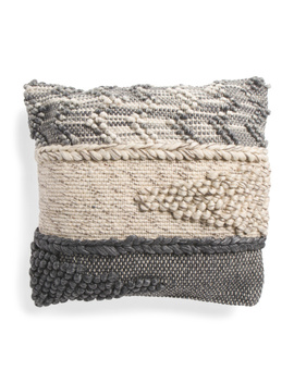 20x20 Chunky Woven Pillow by Tj Maxx