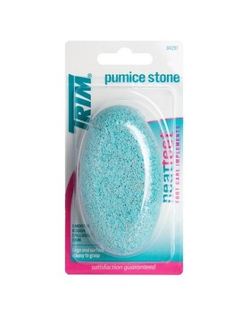Trim Neat Feet Easy To Grip Oval Pumice Stone by To