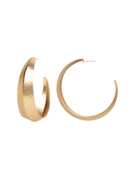 Textured Hoop Earrings by Banana Repbulic