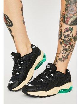 X Rhude Cell Alien Sneakers by Puma