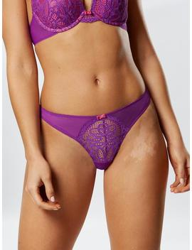 Effortless Glamour Thong by Ann Summers