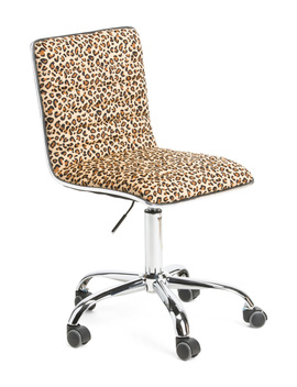 Rachel Leopard Office Chair by Tj Maxx