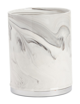 Marble Ceramic Waste Basket by Tj Maxx