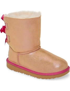 Bailey Bow Genuine Shearling Shimmer Boot by Ugg®