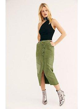 Echo Midi Skirt by Free People