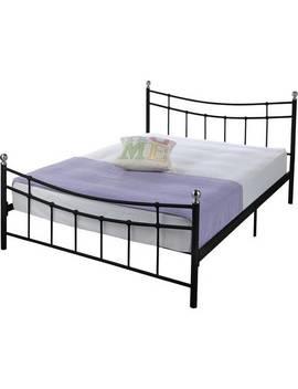 Argos Home Darla Double Bed Frame   Black by Argos