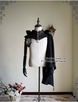 Gothic Punk Pirate Hooded Single Shoulder Mantle by Etsy