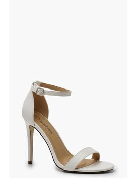 Wide Fit Stiletto Heel 2 Parts by Boohoo