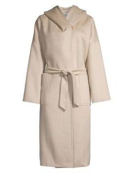 Marilyn Cashmere Hooded Coat by Max Mara