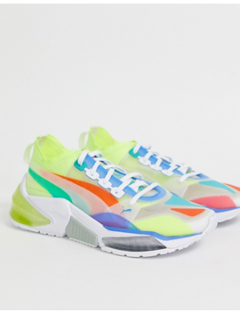Puma Lqdcell Optic Interest Multi Coloured Trainers by Puma